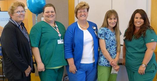 HSHS St. Anthony's Memorial Hospital 2015 Values Award Winners