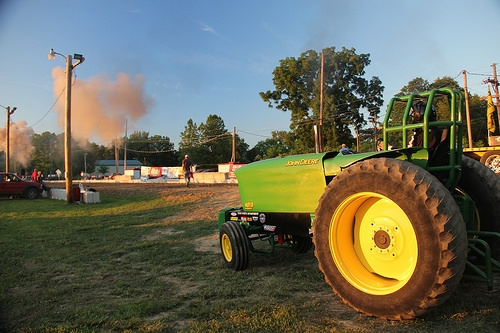 Beller and Belch Tractor Pull in Charleston This Week