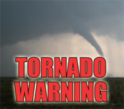 Tornado Warning Issued for Several Counties