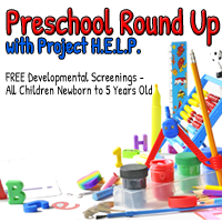 Preschool Round Up 2016:  FREE SCREENINGS