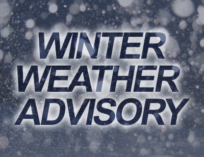 Winter Weather Advisory Thursday Through Friday