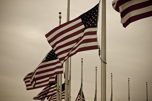 Please Fly American Flags at Half-Staff Through Friday (7-22)