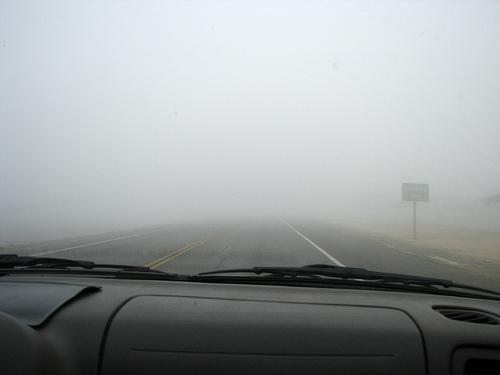 Foggy Start to the Short Work Week