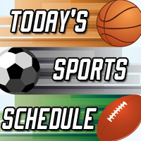 Local Sports Schedule: Monday, December 4, 2017