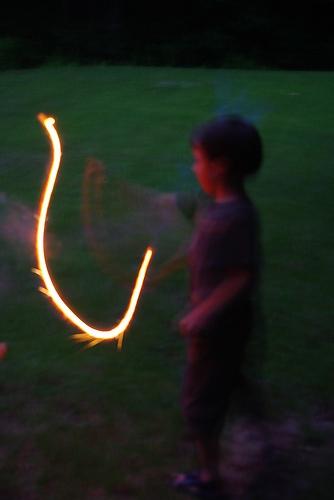Sparklers Burn at Around 2,000 Degrees