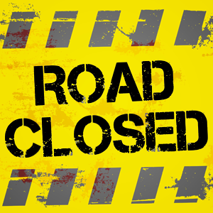 Road Closure in Hutton Township