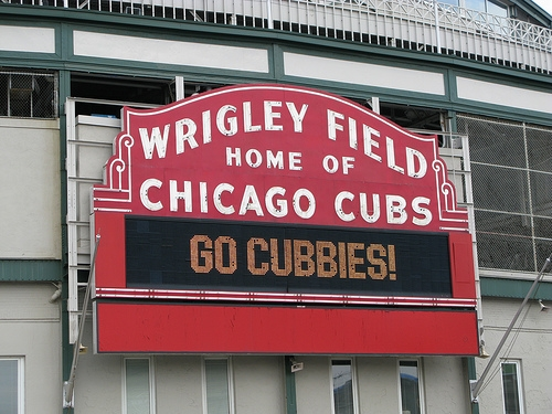 Wheaton Man Dies After Falling Over Rail At Wrigley Field