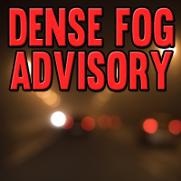 Dense Fog Advisory Issued for Some Illinois Counties