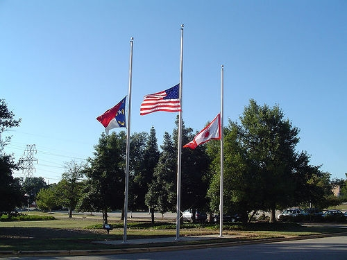 Trump Orders Flags At Half-Staff After Shooting