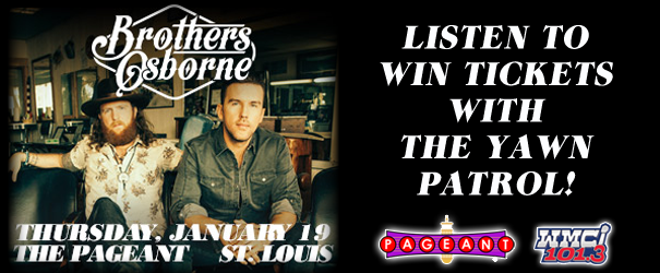 Brothers Osborne Ticket Giveaway
