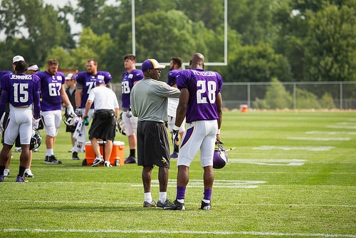 Vikings Decline Option On Peterson