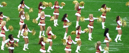 Cheerleaders File Class-Action Against The NFL