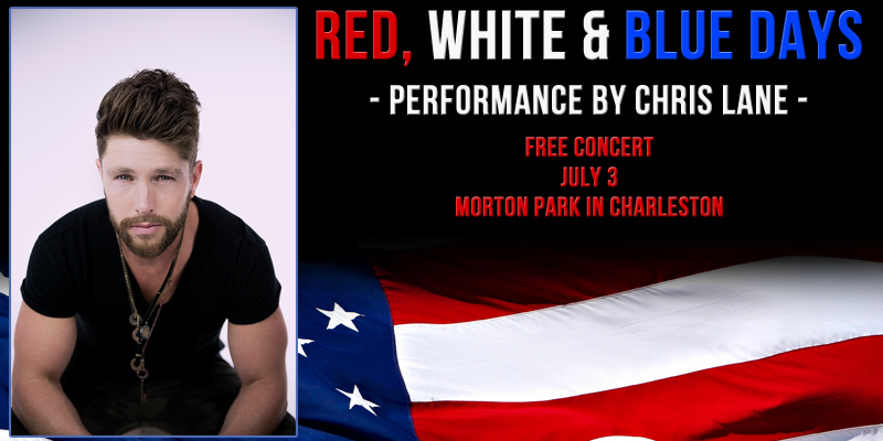 "Chris Lane at ""Red, White & Blue Days"""