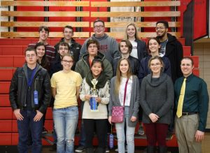 Mattoon High School won the 1500 Division at the WYSE Team event recently held at Lake Land College.