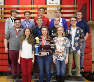 Sullivan High School won the 700 Division at the WYSE Team event recently held at Lake Land College.