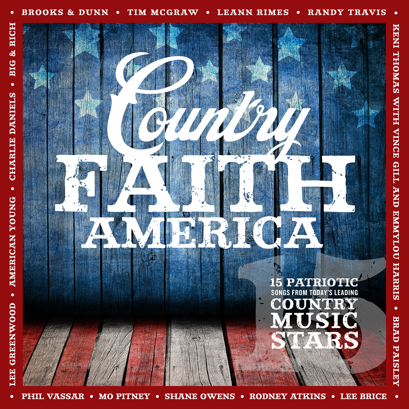 New Country Faith America Scheduled for May 19th Release