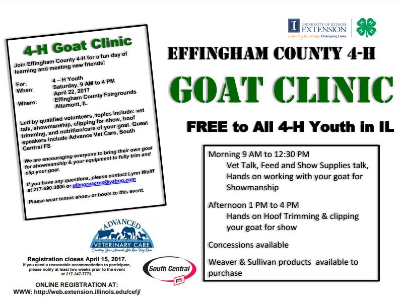 Goat Clinic