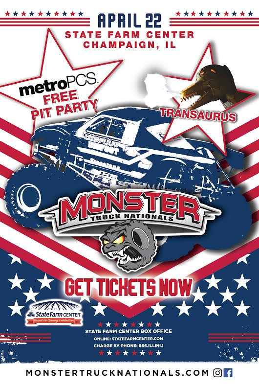 And the Winner of Monster Truck National Tickets Today Was...