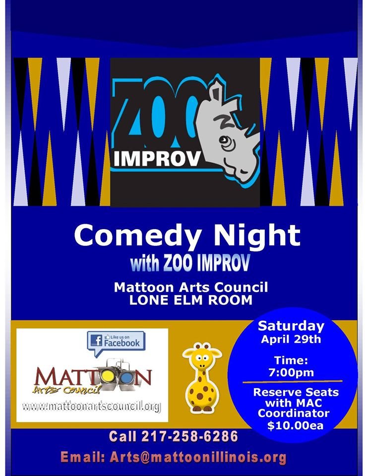 Comedy Night with Zoo Improv
