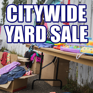 City Wide Yard Sales in Oakland and Hindsboro