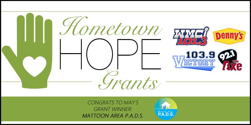 Hometown HOPE Grant - May Winner