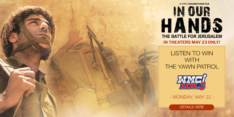 """In Our Hands: The Battle for Jerusalem"" Ticket Giveaway"