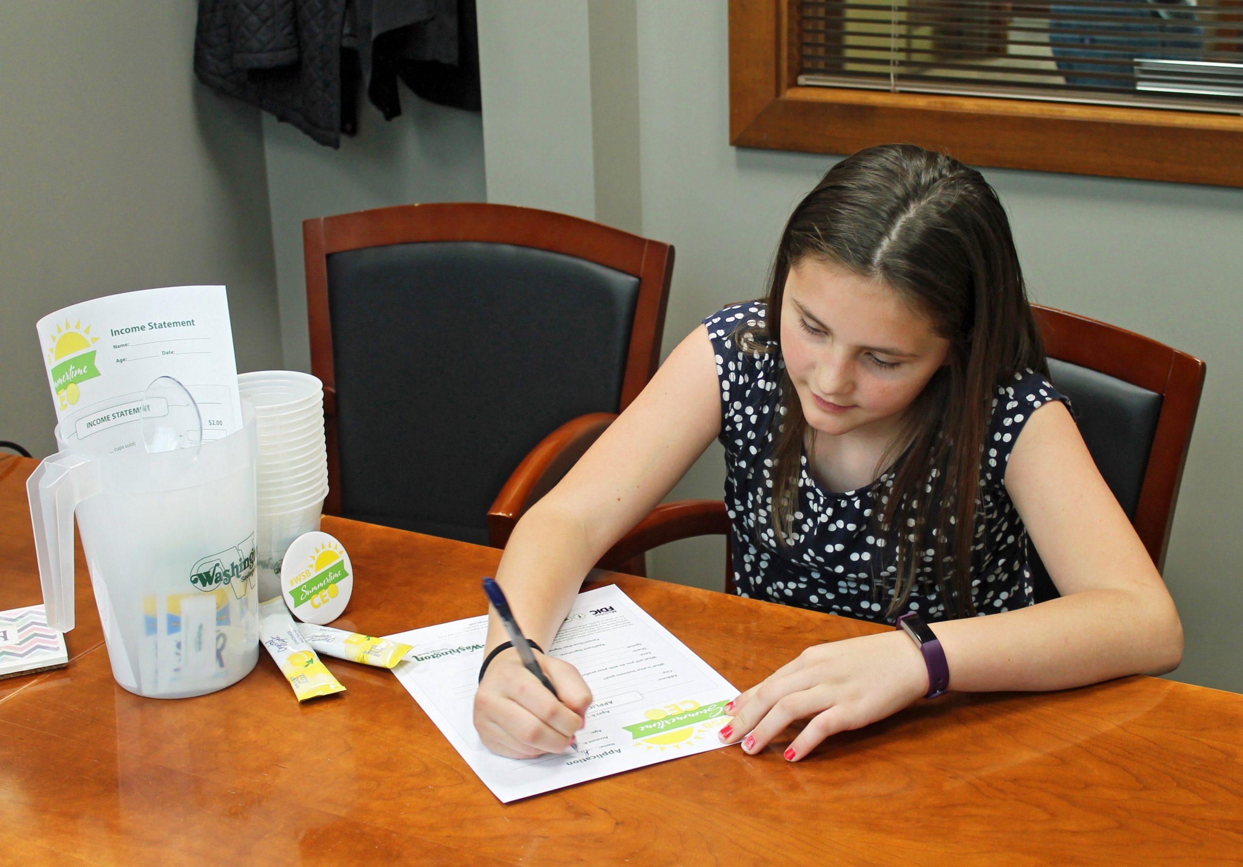Washington Savings Bank Summertime CEO