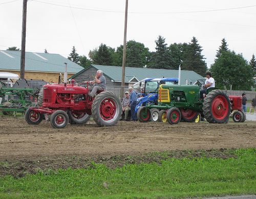 Chris Barker Memorial Tractor Drive and Show Happening Tomorrow