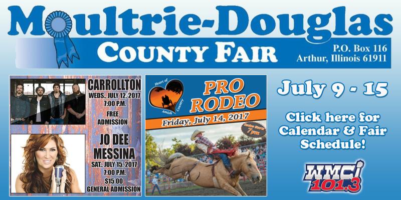 Moultrie-Douglas County Fair 2017 Schedule