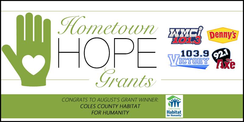 Hometown HOPE Grant - August Winner
