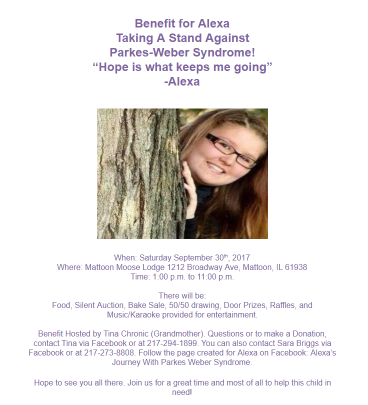 Benefit for Alexa Runner-Hall