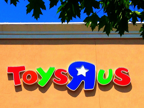 """Toys """"R"""" Us Files For Bankruptcy"""