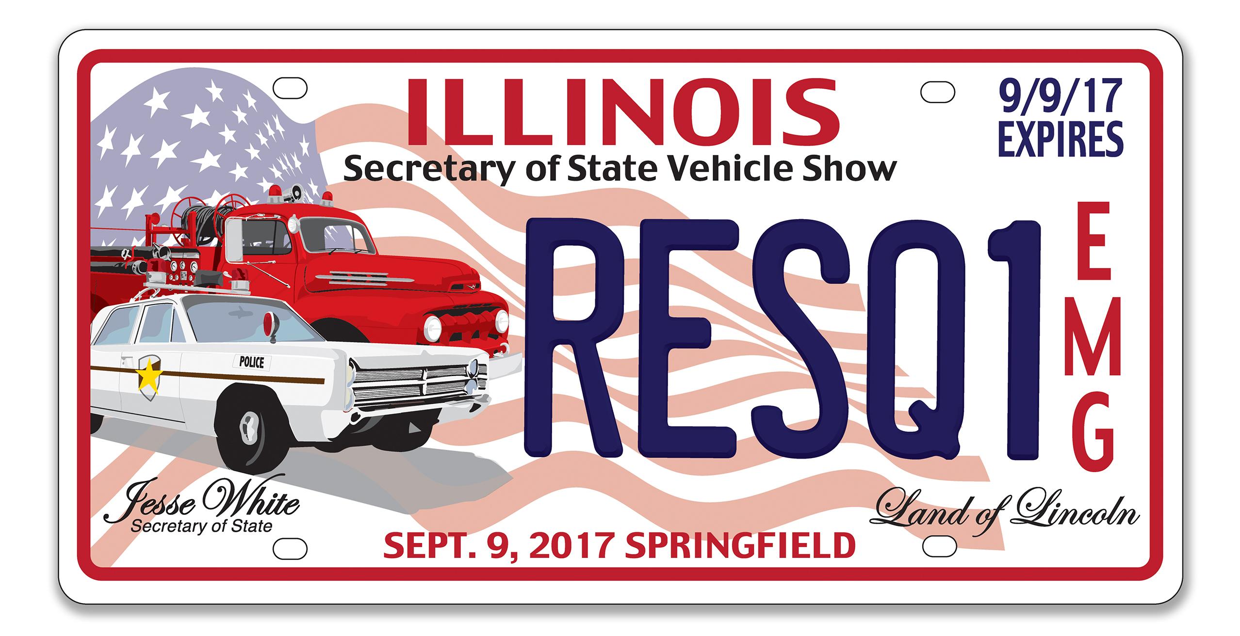 Illinois Secretary of State Vehicle Show