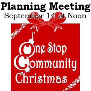 One Stop Community Christmas Meeting