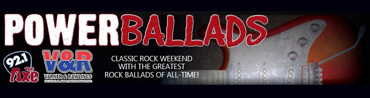 Power Ballads - Classic Rock Weekend