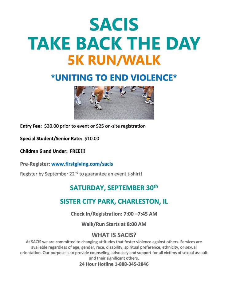SACIS Take Back The Day Run and Walk