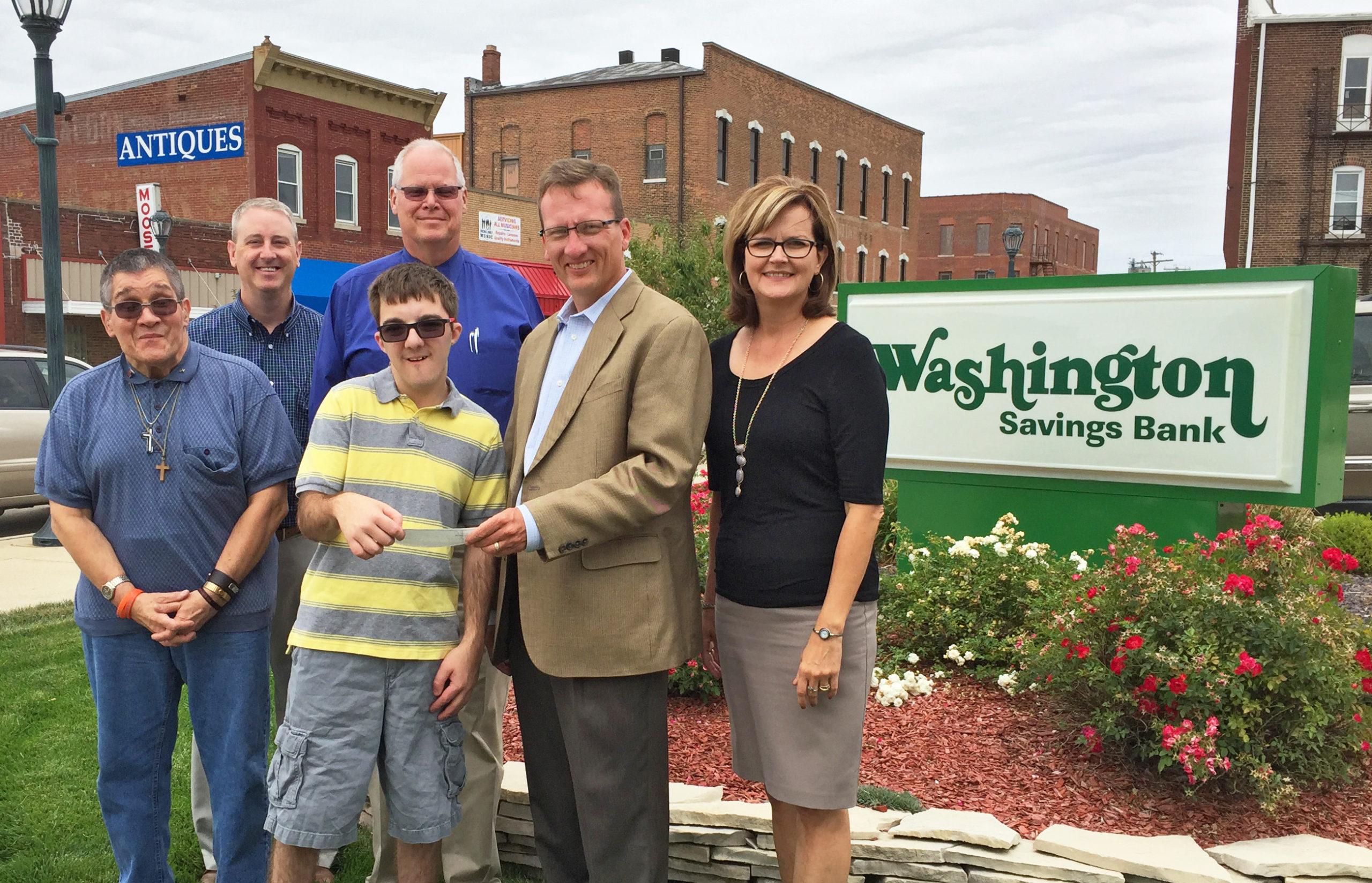 Washington Savings Bank Proud Supporter of Community Support Systems