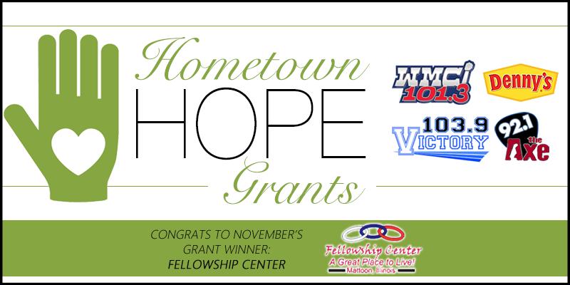 November Hometown HOPE Grant Winner