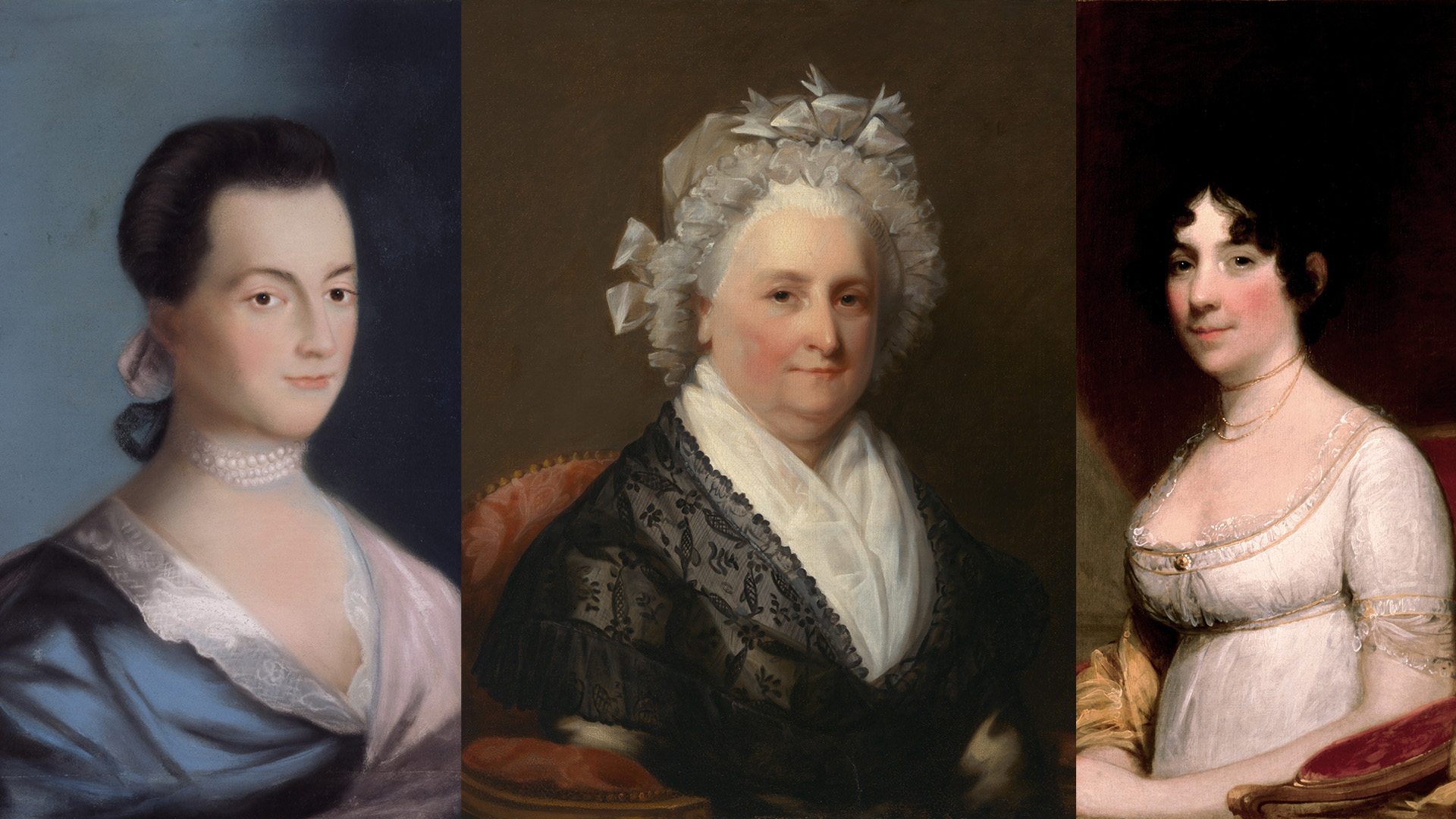 Hear from the First Three First Ladies