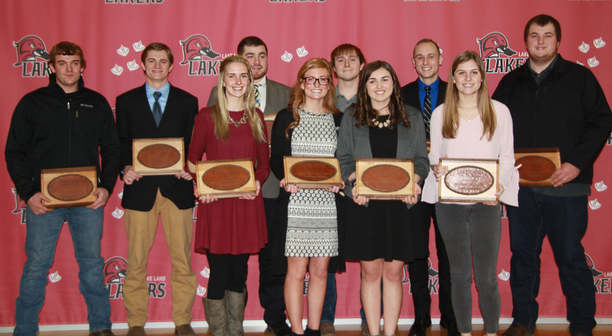 Lake Land College celebrates agriculture students at annual awards banquet