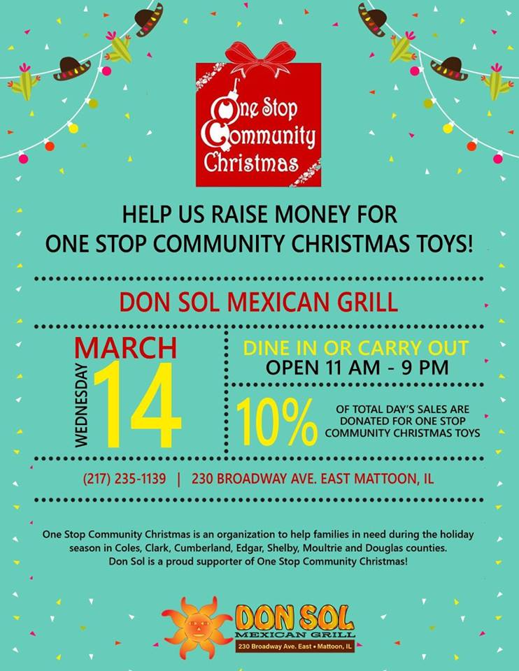 One Stop Community Christmas Day at Don Sol