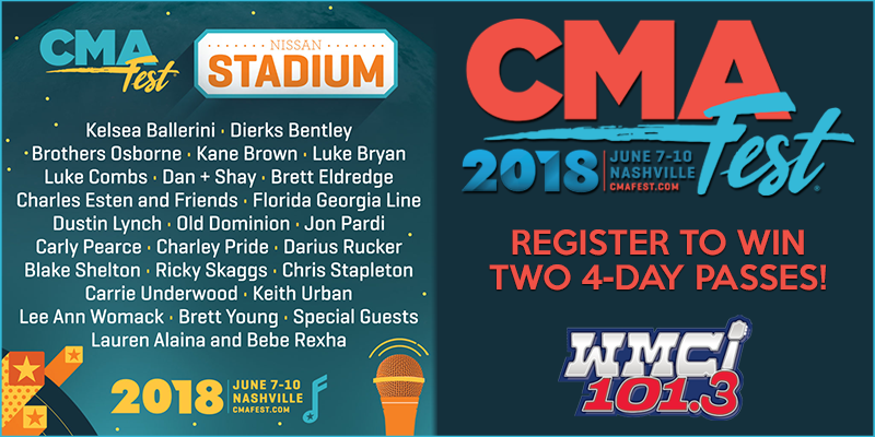 Feature: http://www.myradiolink.com/2018/04/20/register-to-win-cma-fest-passes/