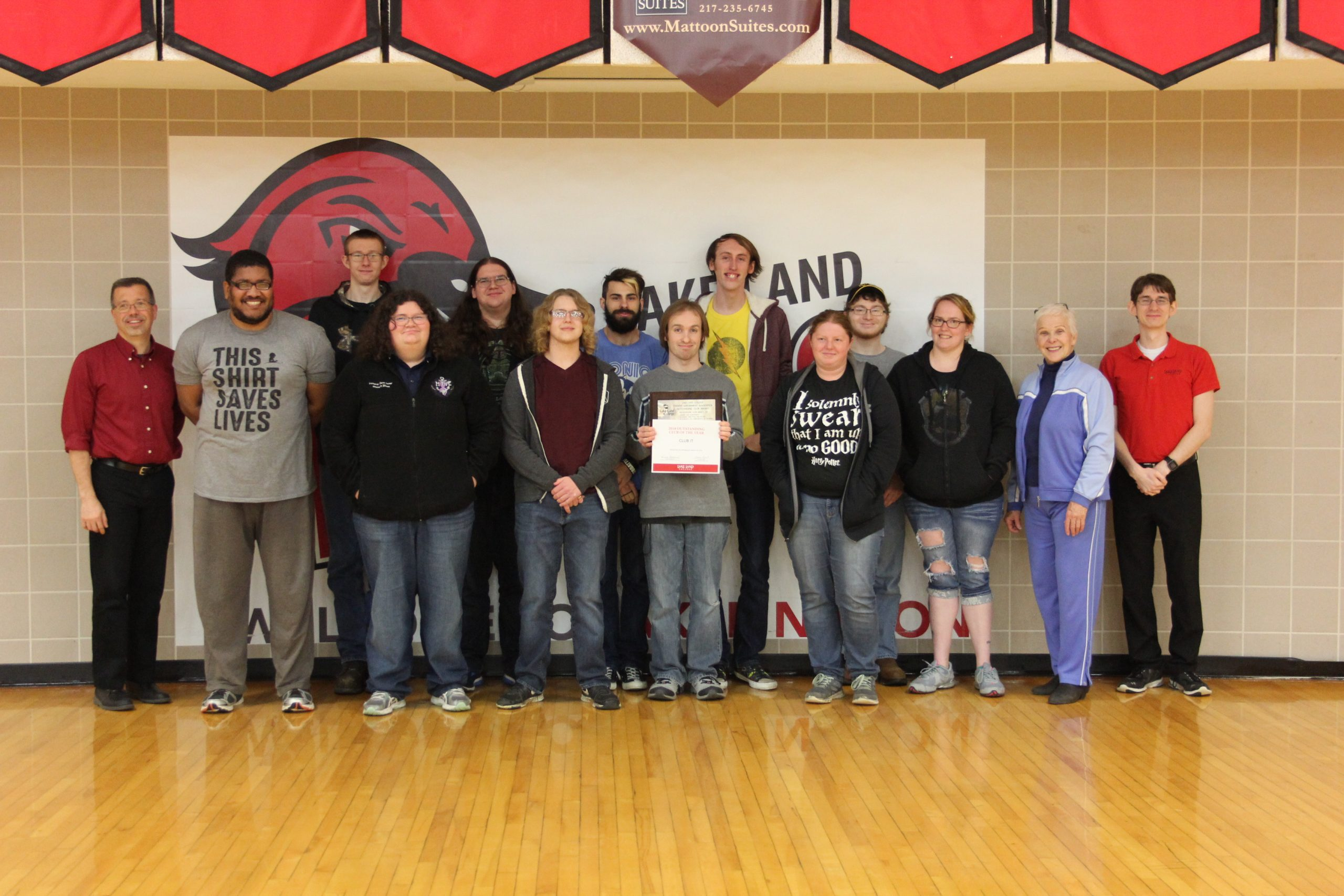 Lake Land College announces annual Outstanding Club Award winners