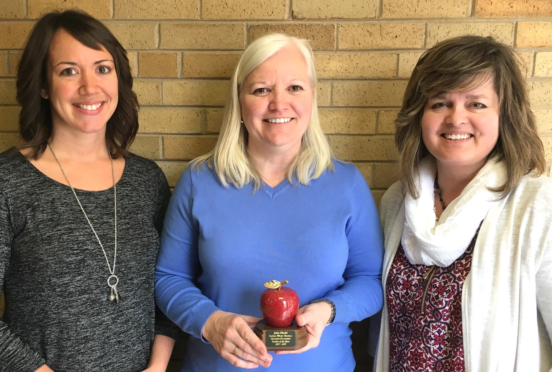 EIU's Chadd earns EIBEA Teacher of the Year award