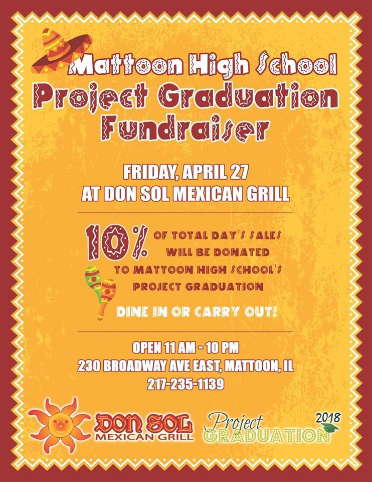 MHS Project Graduation Fundraiser at Don Sol