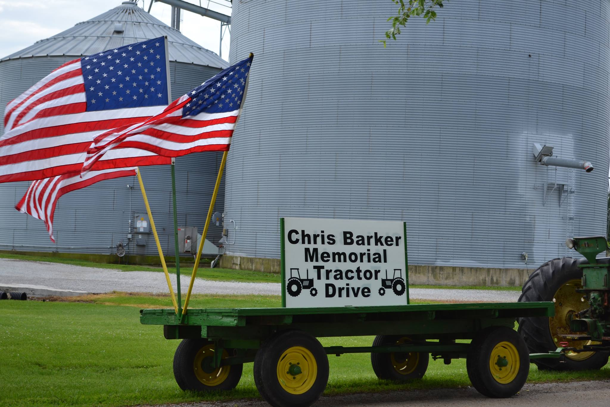 10th Annual Chris Barker Memorial Tractor Drive and Show
