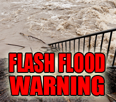 Flash Flood Warning- April 29th