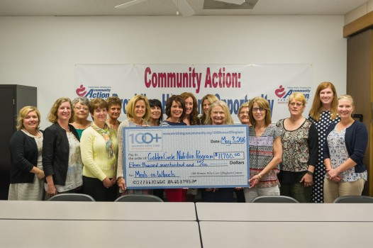 """Golden Circle Nutrition Program Receives $11,700 From """"100+ Women Who Care Effingham County"""""""