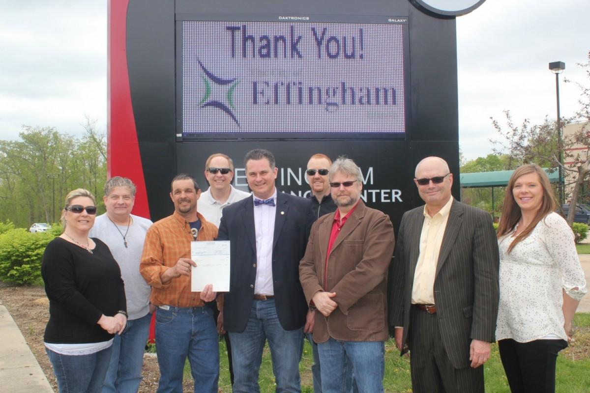 City of Effingham Donates to Performance Center