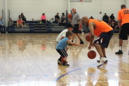 PHOTO ALBUM: Illini Legends vs. Effingham Allstars Charity Basketball Game Benefits Harmony Playground